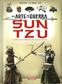 Gran libro de el arte de la guerra Sun Tzu, el libro de los cinc