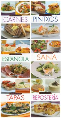 Biblioteca de cocina (6 títulos)