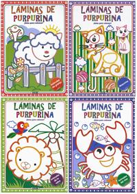 Láminas de purpurina (4 títulos)