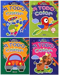 Arte y diversión a todo color (4 títulos)