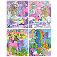 Supercolor Unicornios (4 títulos)