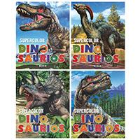 Supercolor dinosaurios (4 títulos)