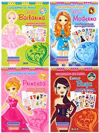 Cuadernos de moda (4 títulos)