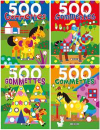 500 gommettes (4 títulos)