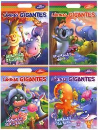 Láminas gigantes (4 títulos)