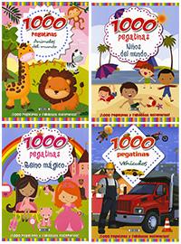 1000 pegatinas (4 títulos)