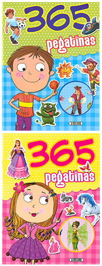 365 Pegatinas (2 títulos)