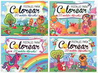 Postales para colorear (4 títulos)