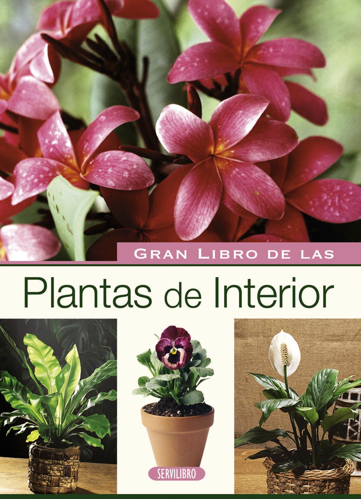 Jardiner a libros servilibro ediciones plantas de interior - Libros sobre jardineria ...