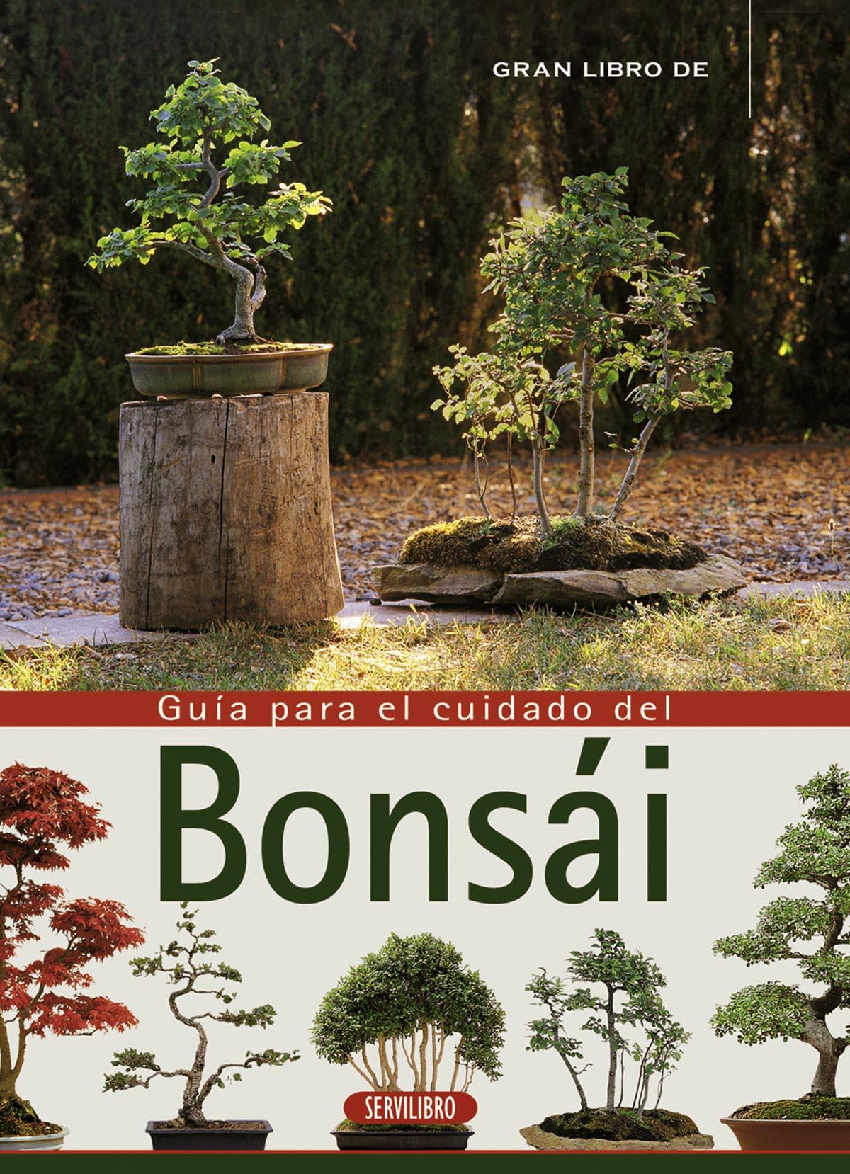 Jardiner a libros servilibro ediciones el cuidado del - Cuidado del bonsai ...