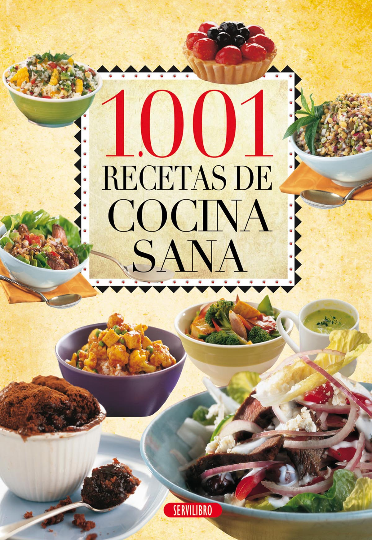 Libros de cocina - Libros Servilibro Ediciones - 1.001 Recetas de ...
